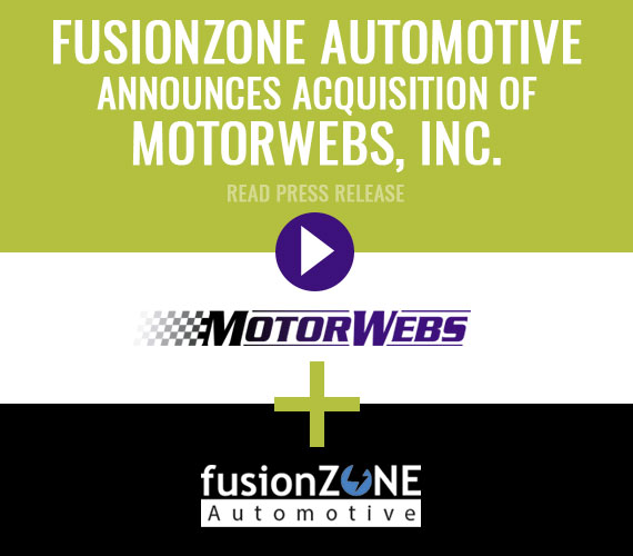 fusionZone Automotive Announces Acquisition of MotorWebs, Inc.